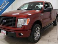 This 2014 Ford F-150 is very clean with low miles. Plus