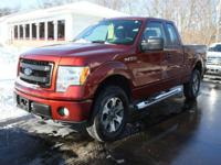 Options:  2014 Ford F-150 Stx 4X4 4Dr Supercab