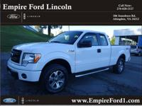 Options:  2014 Ford F-150 Stx|4X4 Stx 4Dr Supercab