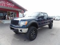 Options:  2014 Ford F-150 Lifted! 20 Fuel Wheels! 37