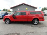 Options:  2014 Ford F-150 Fx Apperance Package!