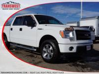 Options:  2014 Ford F-150 Stx|White|Grey Cloth|Price