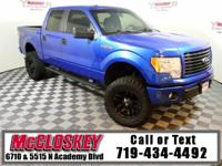 Off road ready 2014 Ford f-150! With Fox Suspension