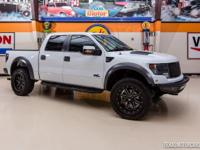 2014 Ford F-150 SVT Raptor 4X4  WHITE 2014 Ford F150