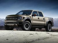 2014 Ford F-150 Clean CARFAX. SVT Raptor 4WD Recent