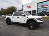 Clean CARFAX. 2014 4D SuperCrew Ford F-150 SVT Raptor