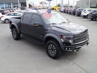 Recent Arrival! 4WD. Clean CARFAX.2014 Ford F-150 SVT