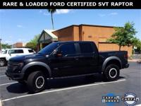 ***WOW! FLAWLESS FORD CERTIFIED 2014 SVT RAPTOR CREW!
