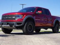 2014 Ford F-150 SVT Raptor in Ruby Red Metallic Tinted