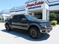 The F-150 has a 6.2 liter 8 Cylinder Engine high output
