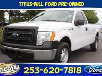 Oxford White 2014 Ford F-150 XL XL PLUS RWD 6-Speed
