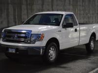 Here is a clean and straight F150. It has power windows