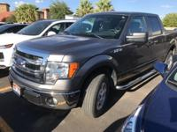 Clean CARFAX. Gray 2014 Ford F-150 4D SuperCrew RWD