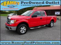 Take command of the road with this 2014 Ford F-150.