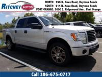 LOW MILEAGE 2014 FORD F-150 XL 4WD CREW CAB**CLEAN CAR