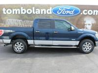 2014 Ford F-150 XLT Blue Jeans Metallic ABS brakes,