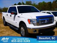 2014 Ford F-150 in White. 4WD. ATTENTION!!! In a class