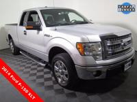 2014 Ford F-150 XLT with a 3.7L V6 Engine. Cloth