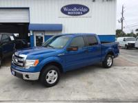 Options:  2014 Ford F-150 Xlt|Blue Flame Metallic|**One