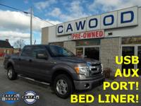Options:  2014 Ford F-150 Xlt|Gray|Bedliner|Running