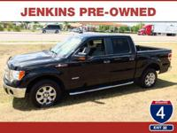 LOW MILES, This 2014 Ford F-150 XLT will sell fast