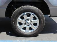 CARFAX One-Owner. Clean CARFAX. Gray 2014 Ford F-150