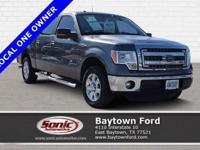 Cruising in this 2014 Ford F-150 XLT is better than