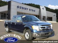 Clean CARFAX. Sterling Gray Metallic 2014 Ford F-150