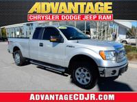 This Ingot Silver 2014 Ford F-150 has LOW MILES and a