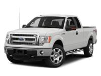 2014 Ford F-150 XLT Oxford White. ABS brakes, Alloy