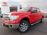 This 2014 Ford F-150 comes equipped with satellite