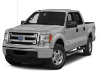 Silver 2014 Ford F-150 XLT 4WD 6-Speed Automatic