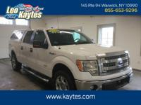 Ford Certified! 2014 Ford F-150 XLT 4X4 Crew Cab in