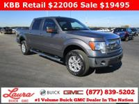 1-Owner New Vehicle Trade! XLT 5.0 V8 Crew Cab 4x4.