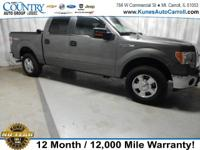 Options:  2014 Ford F-150 Xlt|Gray|4Wd|Power Driver
