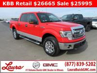 1-Owner New Vehicle Trade! XLT 5.0 V8 Super Crew Cab