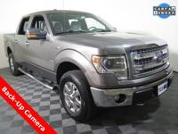 2014 Ford F-150 XLT Super Crew with a 5.0L V8 Engine.