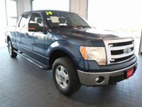 Options:  2014 Ford F-150 Xlt|Blue|4Wd|Abs
