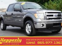 This 2014 Ford F-150 XLT in Sterling Gray Metallic