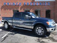2014 FORD F-150 CREW CAB 4X4 WITH THE 6 AND HALF FOOT