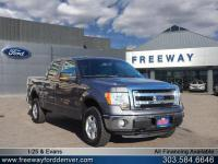 Sterling Gray Metallic 2014 Ford F-150 XLT 4WD 6-Speed