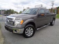 F-150 XLT, 4D SuperCrew, 4WD, Sterling Gray Metallic,