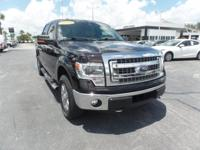 2014 Ford F-150 Crew Cab with 4 Wheel Dirve, Leather