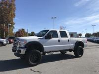 Oxford White 2014 Ford F-250SD XL 4WD TorqShift 6-Speed