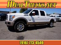 Options:  2014 Ford F-250 Super Duty Crew Cab 4X4 King