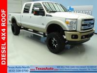 KING RANCH-DIESEL-FX4-4X4-LIFTED-ROOF-NAV-REAR