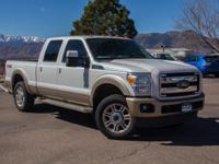Extra Clean. King Ranch trim, White Platinum Metallic