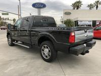 Options:  2014 Ford Super Duty F-250 Srw