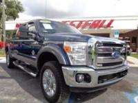 THIS IS A BEAUTIFUL 2014 FORD F250 LARIAT CREWCAB