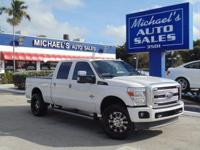 Options:  2014 Ford F-250Sd Lariat|White|4Wd.